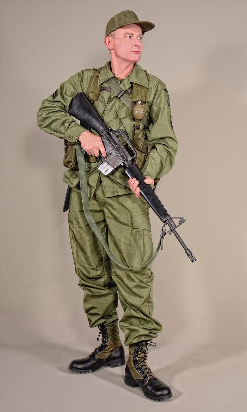 Military Uniform Us Soldiers Vietnam 02 By Mazuskarl On Deviantart