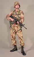 Military - uniform US soldiers gulfwar camo - 02