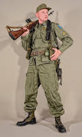 Military - uniform US soldiers airborne 60s - 04