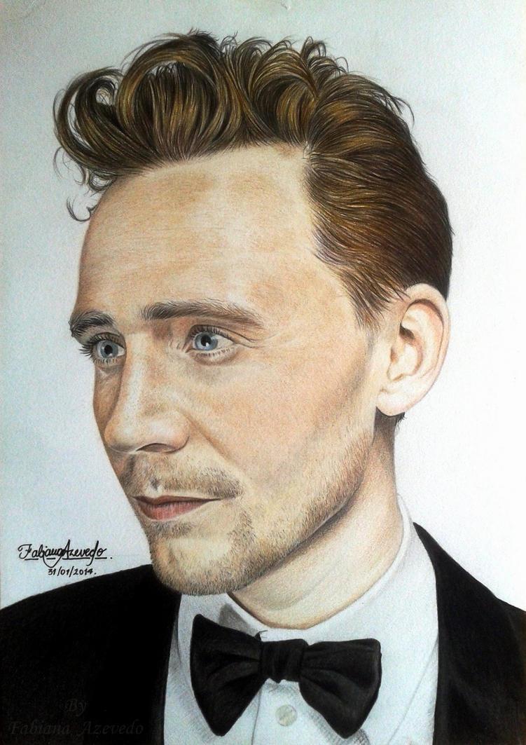 Tom Hiddleston Colour Pencils 2 By Fabianaazevedo On Deviantart