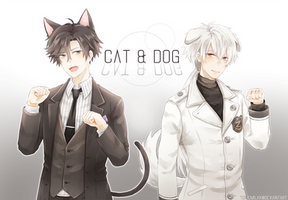 Mystic Messenger: Jumin and Zen