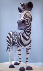 zebra sculpt by Flapjackrabbit