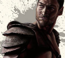 Spartacus - Andy Whitfield by seanbianchi