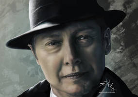 Commission: Red Reddington by seanbianchi