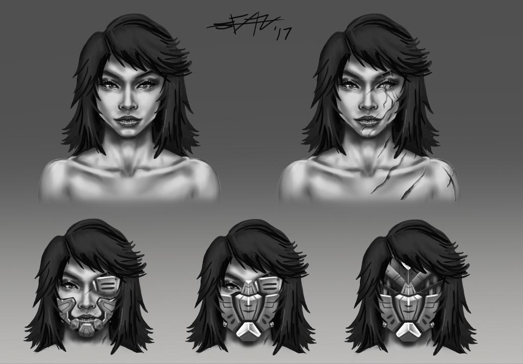 Nadia character study by seanbianchi