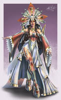 Empress Carolina by seanbianchi