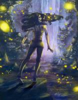 Fireflies by seanbianchi