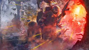 Ibby Under Fire by seanbianchi
