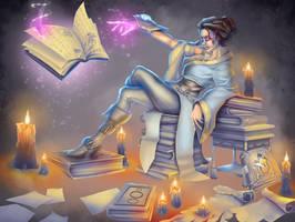 Artamese Scribing by seanbianchi