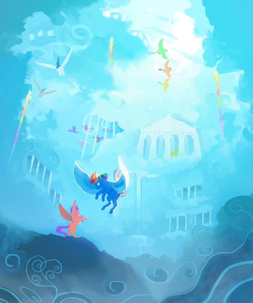 Welcome to Cloudsdale by Sayuri1314