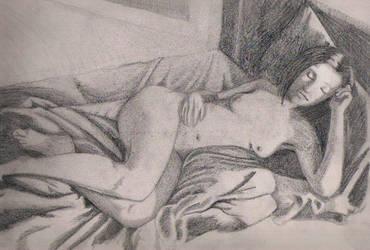 My Wife, Asleep by TomBerck