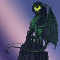 Goblin Dragon by TomBerck