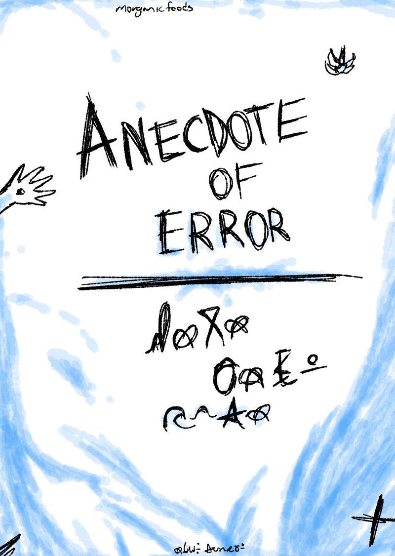 Anecdote of Error