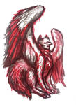 A somewhat untraditional griffin by e-s-kim0