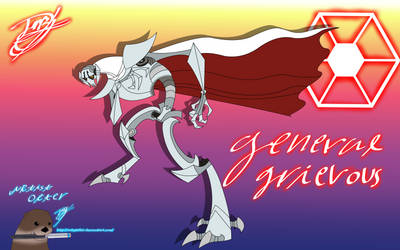 General Grievous Clone Wars 2003 by ArtistOtter