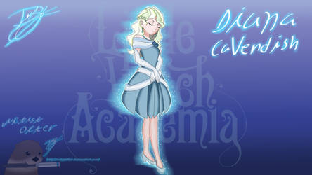 Little witch academia Diana Cavendish by ArtistOtter