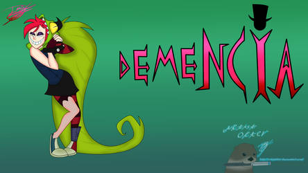 Demencia Villainous by ArtistOtter