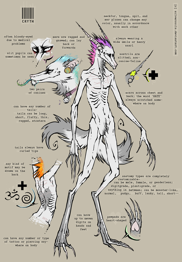Cryth Reference '07 by SilverCoils