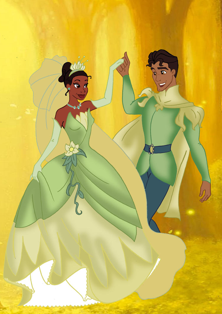 Tiana and Naveen by Applefied on DeviantArt