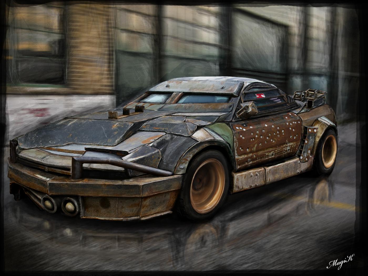 Honda NSX 'Death Race'