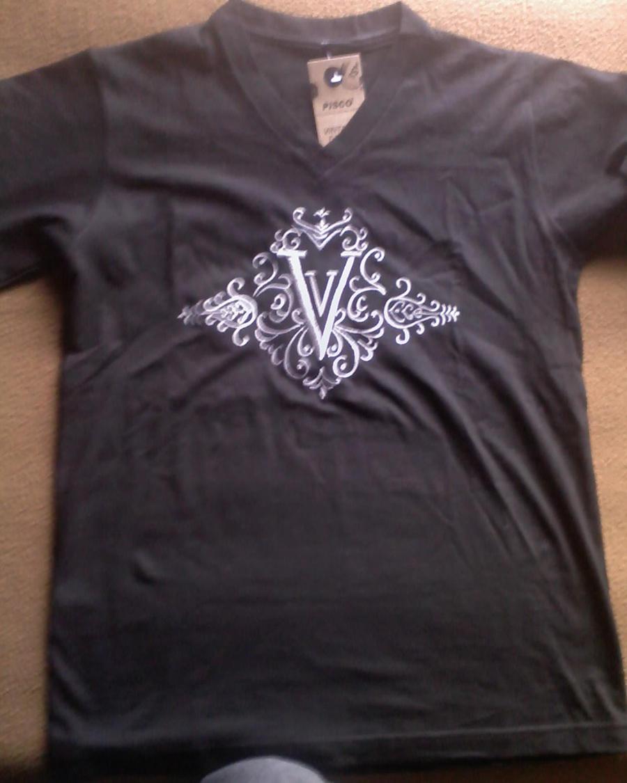 My Vitas embroidered T-shirt