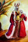King Balor and Nuala detail