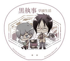 kuroshitsuji uchiwa series 2 by kuso-taisa