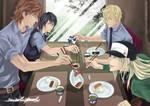 sweet pool-ordinary days by kuso-taisa