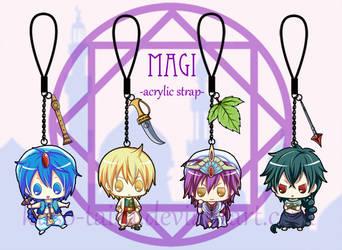 magi acrylic strap by kuso-taisa