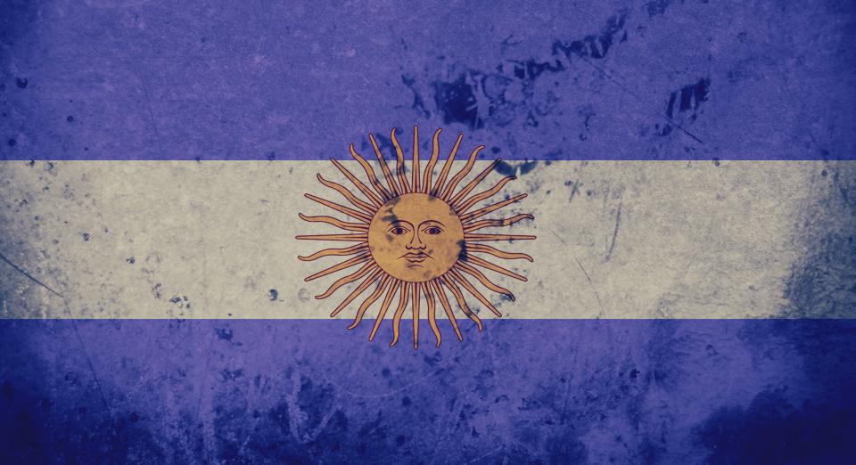 Argentina Flag Etiquette