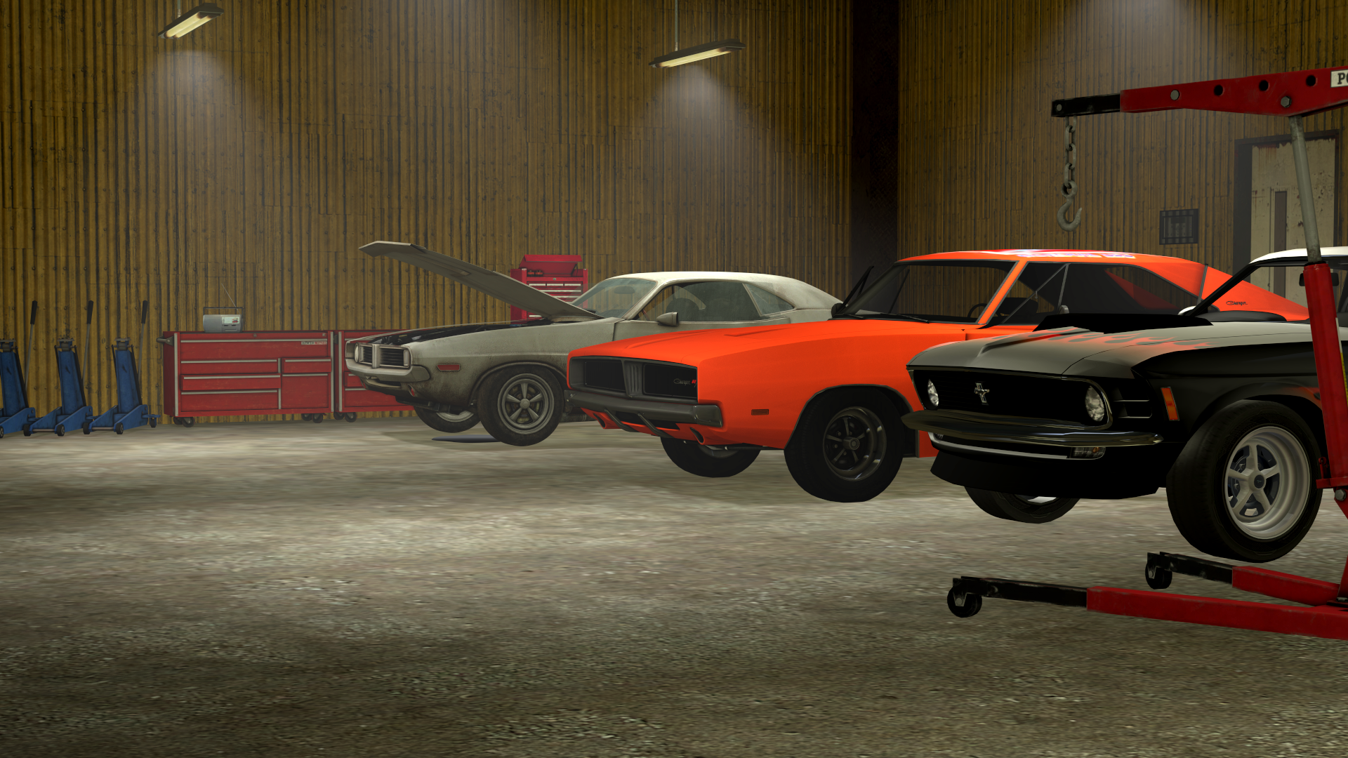 SFM) Muscle cars in the garage by TheBRSteamer95 on DeviantArt