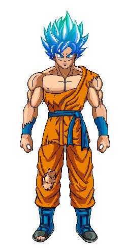 Goku Dbs Damaged by Tuninho22