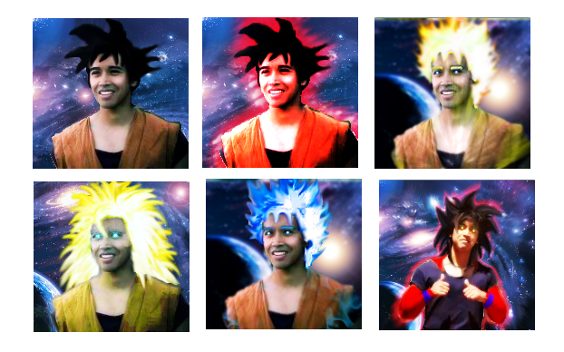 real Goku Fases by Tuninho22