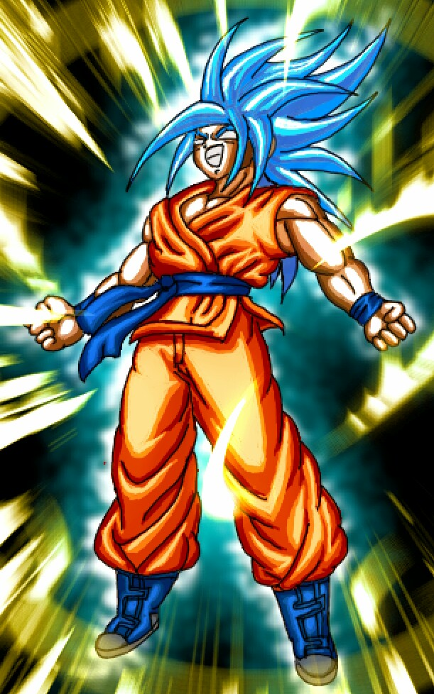 next transformation goku ssjblue 2 by Tuninho22