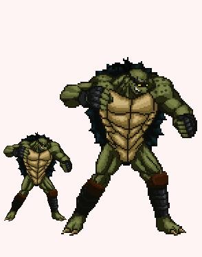 Slash The Monster Turtle by Tuninho22
