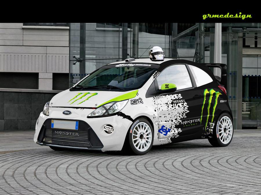 Ford Ka Rally By Grmc Design
