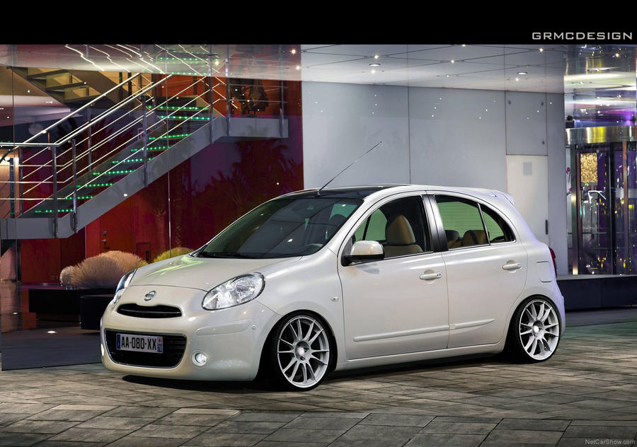 Nissan March Tuning >> Nissan March By Grmc Design On Deviantart