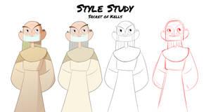 Style Study - Secret of Kells