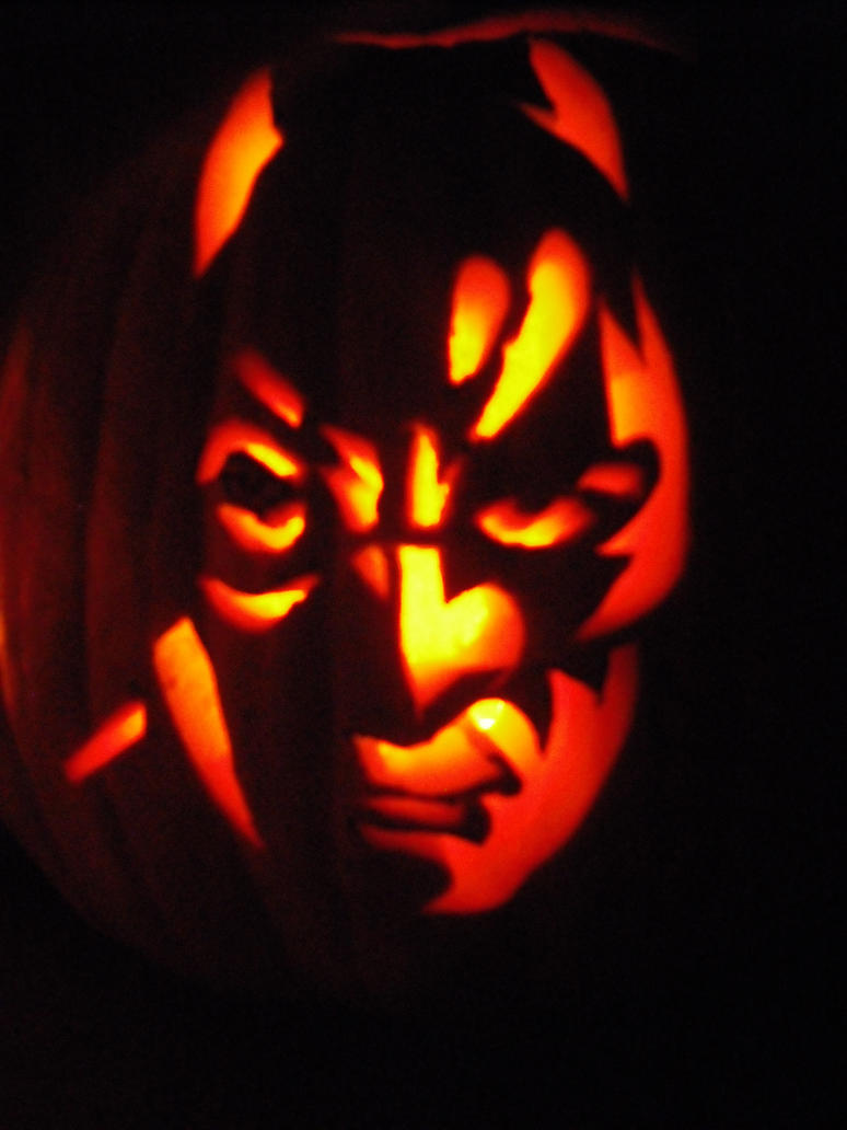 Batman pumpkin by black destiny on deviantart