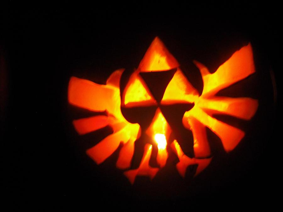 The legend of zelda pumpkin by black destiny on deviantart