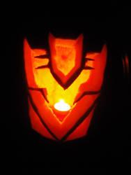 Decepticon Pumpkin by Black-Destiny