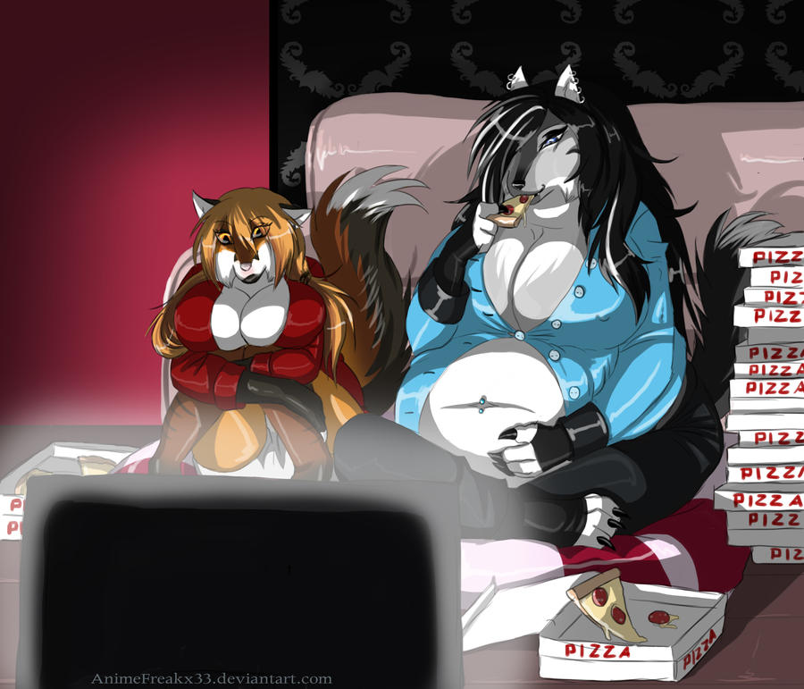 Movie night by animefreakX33