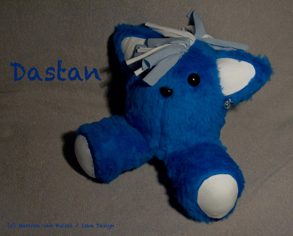 PUNKitty Dastan plush by IskaDesign