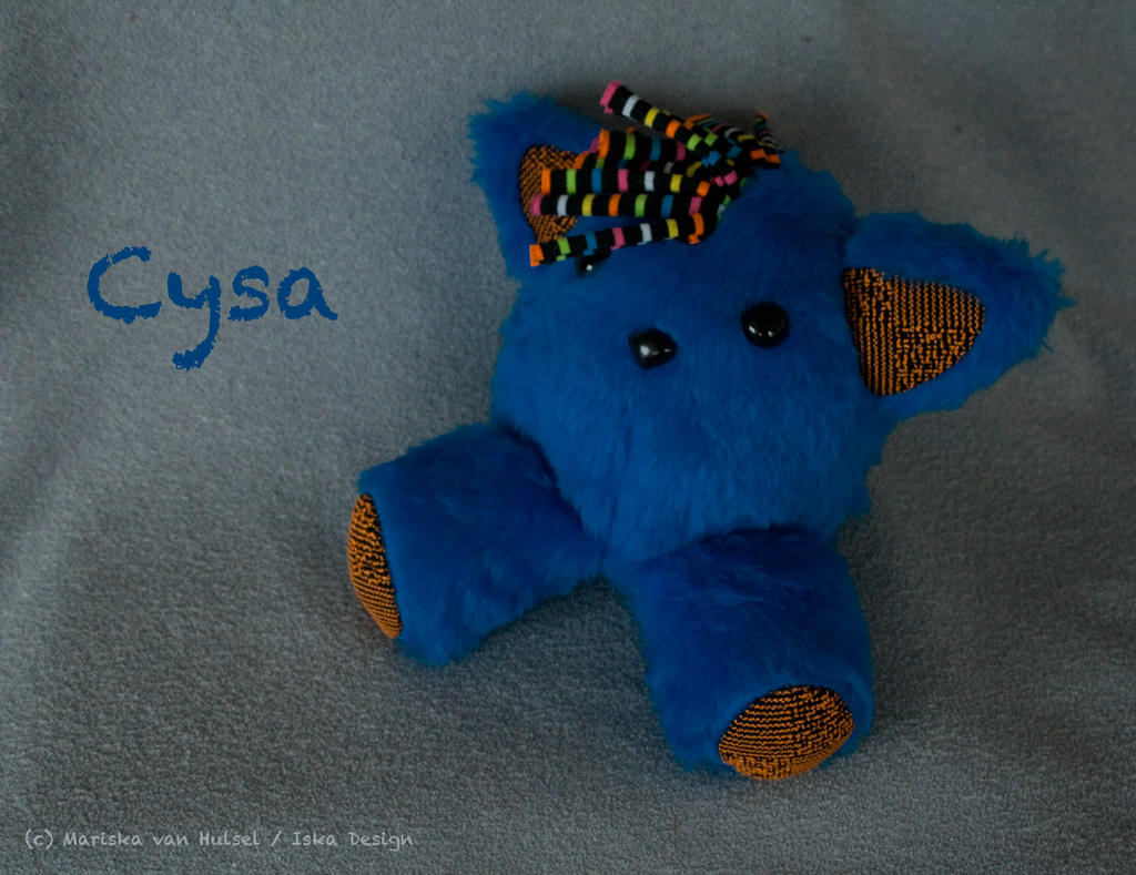 PUNKitty Cysa plush by IskaDesign