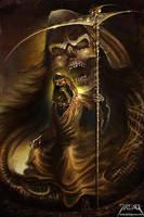 Mister Death by jarling-art