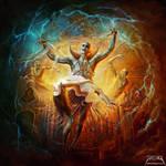 Evil God by jarling-art