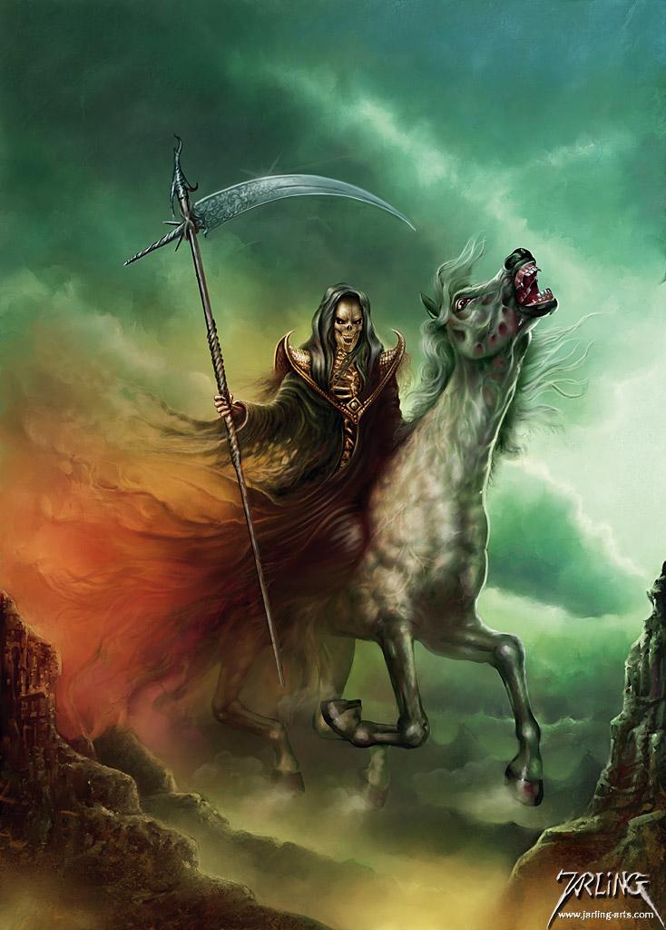 Death Rider by jarling-art