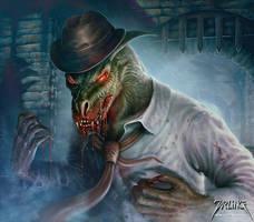 Ghoul by jarling-art