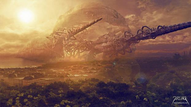 Alien Artefakt by jarling-art