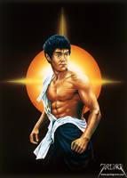 Bruce Lee 2 by jarling-art